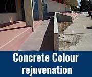 Concrete Colour rejuvenation
