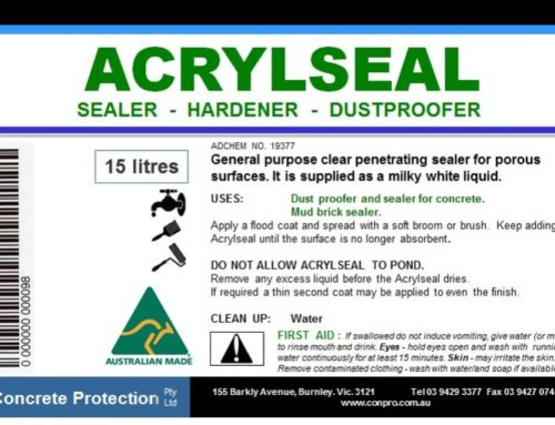 Acryseal – water based quality acrylic floor sealer