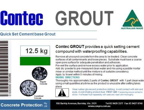 Contec Grout