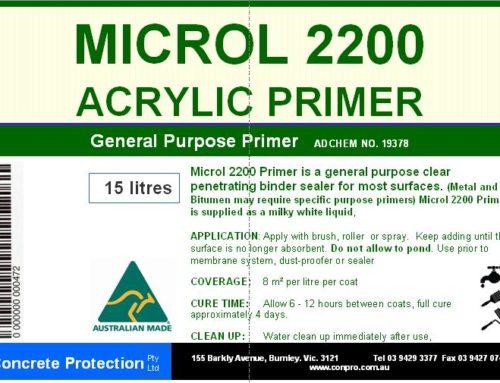 Microl Acrylic Primer