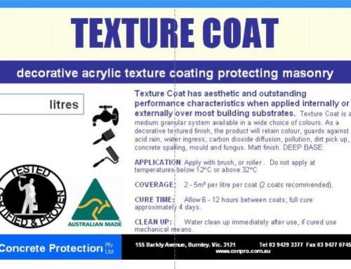 Texture Coat – Decorative acrylic textured coating protecting masonry