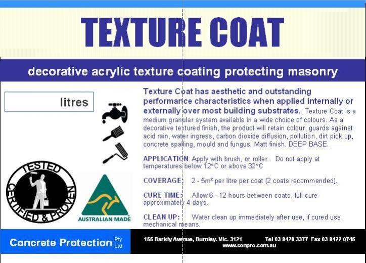 Texture Coat Decorative Acrylic Textured Coating