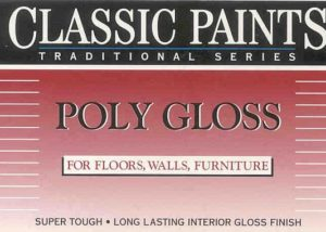 PolyGloss - Tough Interior Gloss Coating