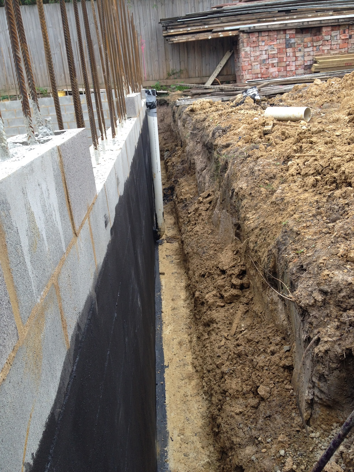Concrete Wall Design Eurocode : Retaining wall concrete slab design example