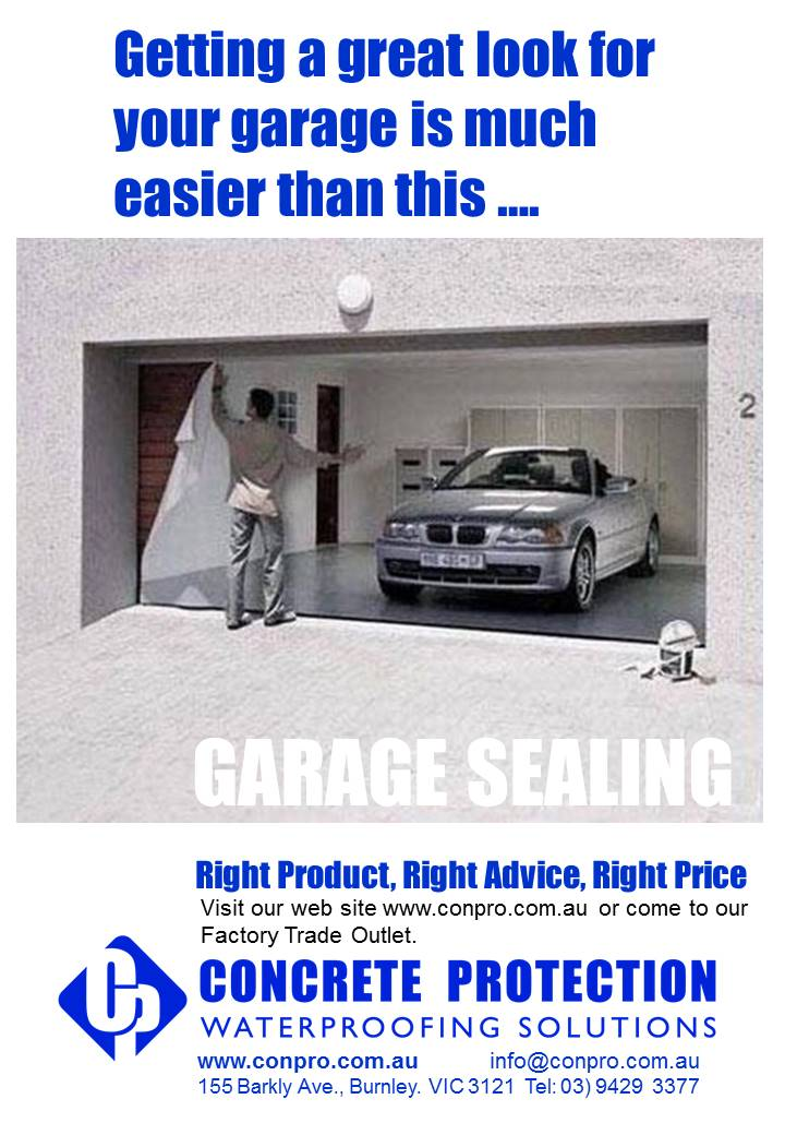 Garage Sealing protection