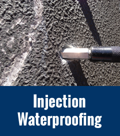 Injection Waterproofing small